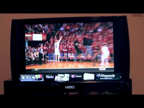 Connected TV: Vizio LED HDTV with VIA Apps Part 1 of 2