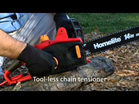 Homelite 14in. Electric Chainsaw (UT43100)