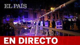 DIRECTO: SENTENCIA PROCÉS | Disturbios en Barcelona el segundo día de protestas