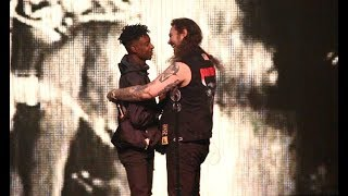 "Post Malone & 21 Savage ""ROCKSTAR"" LIVE! + ""Bank Account"""