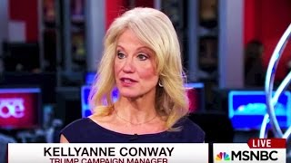 Kellyanne Conway: Sometimes Trump Lies Because He Doesn
