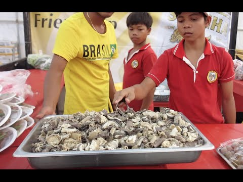 Cambodian street foods at Koh Pich Diamond Island Concert
