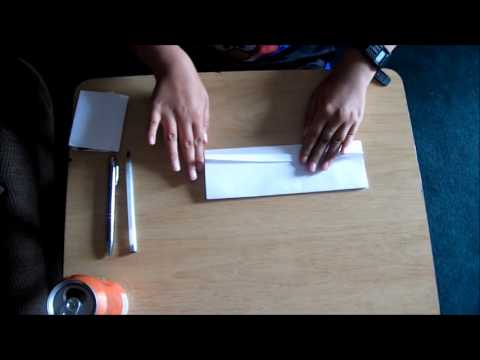 How to make a paper wallet without tape and glue.