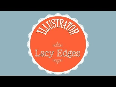 Create a Simple Lacy Border Effect in Adobe Illustrator