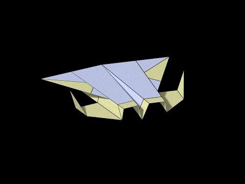 Jupiter Paper Airplane: 3D Folding
