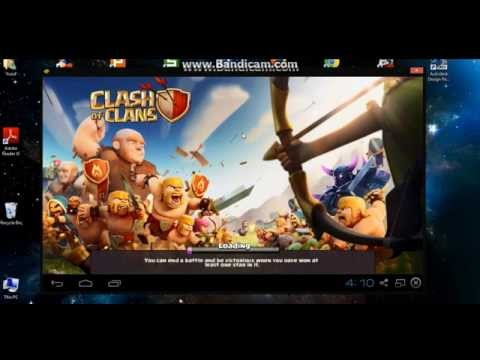 How to play Clash of Clans on laptop?