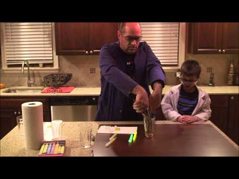 Science with Daddy Episode 3: Glowsticks in a Cup