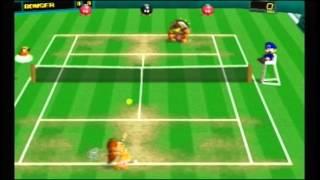 Mario Tennis 64 Star Cup Daisy gameplay