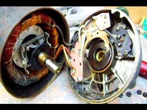 Reversing an Induction Motor ( Century Electric 1/4 Horse )