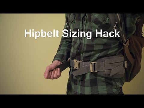 Hip-belt size issue? Here's a quick fix