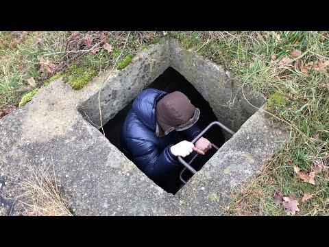 Exploring secret german WWII tunnels