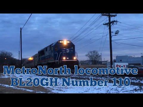 MetroNorth commuter arriving in Danbury CT 1-31-18