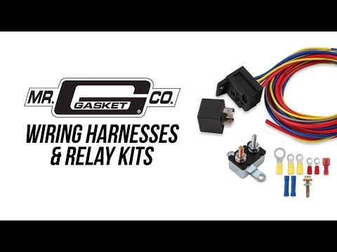Mr. Gasket Wiring Harness and Relay Kits