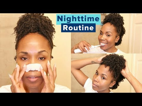 Nighttime Skincare, Hair Care & Whiter Teeth Routine | Steps to Reduce Wrinkles & Dark Spots