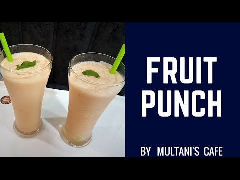 Fruit Punch / Mocktail  Fruit Punch / How To Make Fruit Punch
