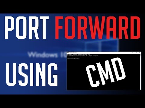 How To Port Forward using DoS [Command Prompt]