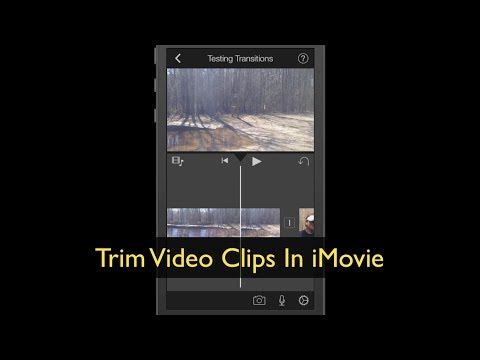 iPhone Apps ~ Trim Video Clips In iMovie