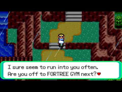Pokemon Emerald LP Part 51 From the Weather Institute to the Fortree Till the Rain drops fall!