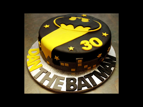 Lego batman birthday cake ( Batman Cake Ideas)  - DeeDoOo World