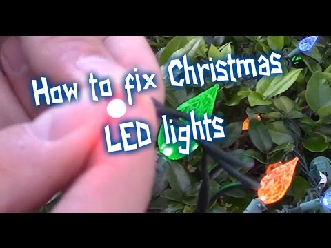 EASY WAYS HOW TO FIX LED CHRISTMAS LIGHTS