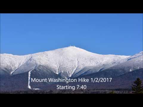 Mount Washington Winter Hike