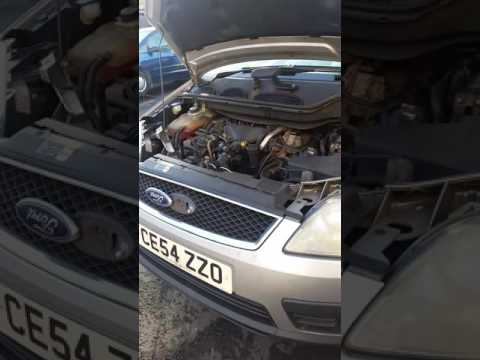 Ford focus/ cmax heavy power steering fault.
