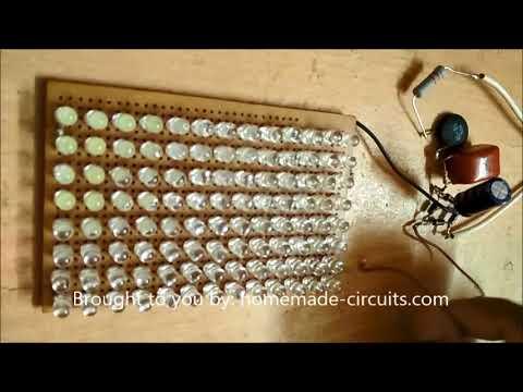 Testing a Simple LED Bulb Circuit using 5mm LEDs