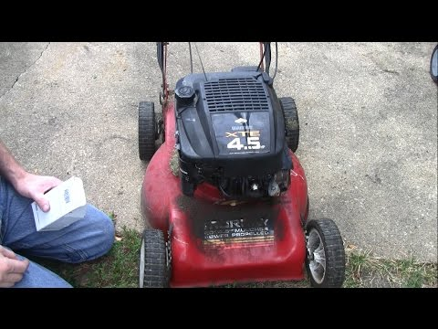 How To Replace The Ignition Coil On A Briggs And Stratton Lawn Mower