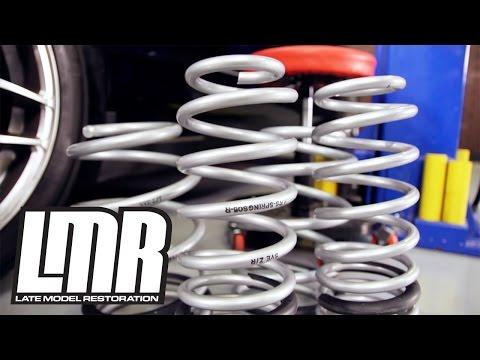 Mustang Lowering Spring Installation - SVE (05-14 S197)