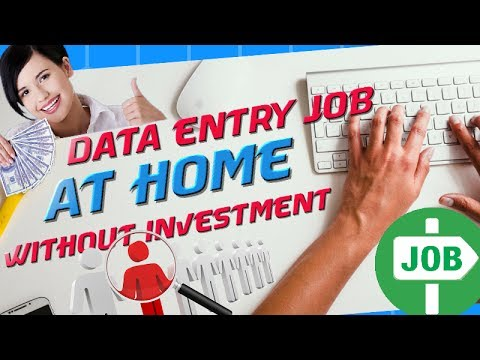 How to do Data Entry Work? Online Data Entry Jobs without Registration fees! HINDI DEMO