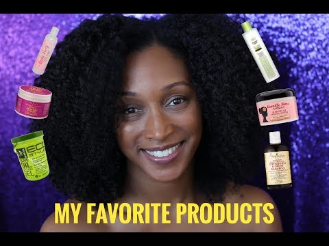 MY FAVORITE NATURAL HAIR PRODUCTS