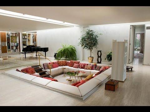 Sunken Living Room Designs – 10 Amazing Ideas