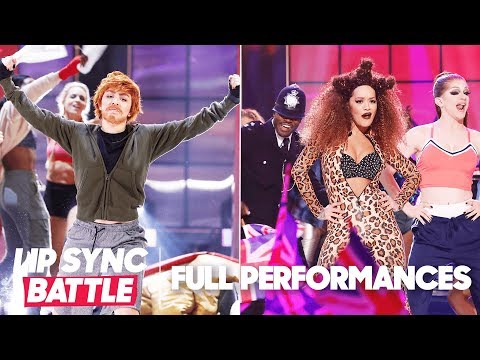 "Charli XCX's ""Shape of You"" vs. Rita Ora's ""Wannabe"" | Lip Sync Battle"