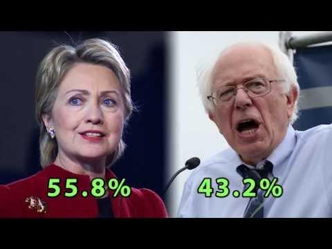 Hillary Clinton's election fraud finally exposed. California stolen from Bernie Sanders!