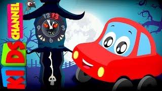 Little Red Car   The Clock Has Struck Thirteen   Halloween Songs For Children