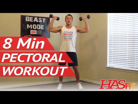 8 Minute Killer Chest Workout at Home - Chest Exercises Routine - Pectoral Workout - Chest Work Out