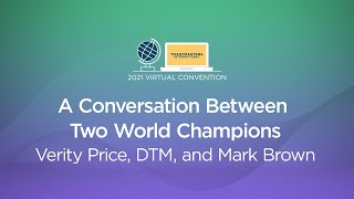 A Conversation Between Two World Champions