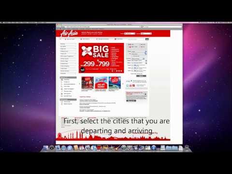 AirAsia Online Booking System.wmv