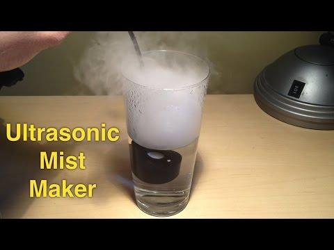 Ultrasonic mist maker / fogger for homemade humidifier