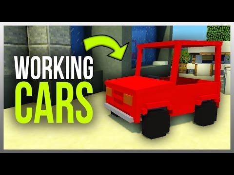✔️ Working CARS in Minecraft