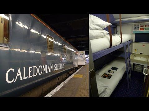 London to Scotland by Caledonian Sleeper