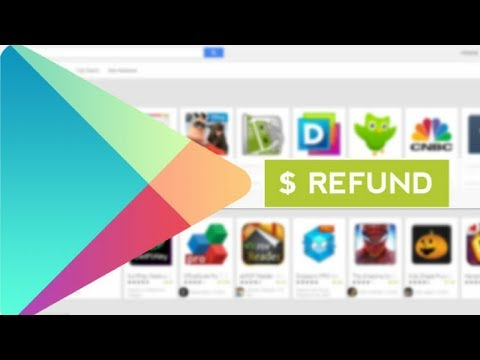 How to get Google play store refund in 5 minutes.