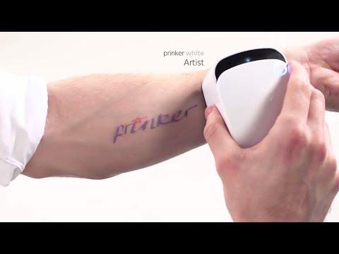 Prinker Temporary Tattoo Printer
