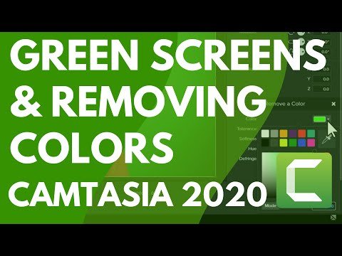 Camtasia 9/3: Remove a Color (Green Screen)