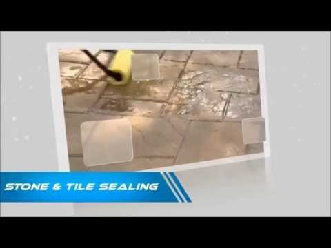 Cleaning and Sealing Travertine Tile Floor in Perth WA