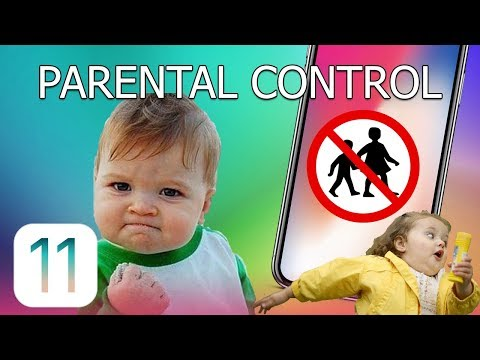 How to Set Parental Control on iPhone and iPad (iOS 11)