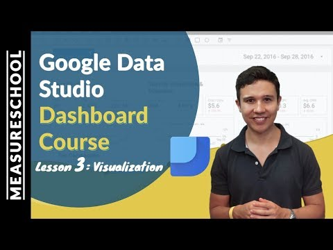 Facebook Ads Dashboard with Google Data Studio | Lesson 3