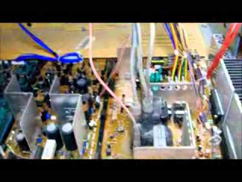 How To Fix A Hitachi TV by replacing convergence IC chips part 1.flv
