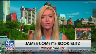 RNC spokeswoman Kayleigh McEnany defends smearing Comey