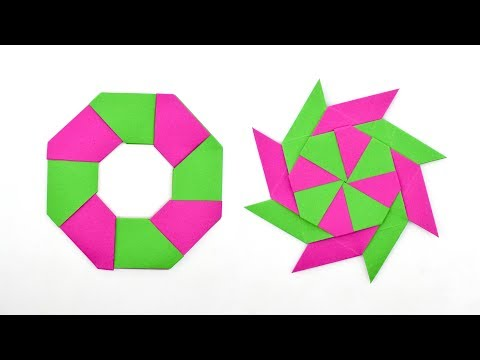 How to make a paper Transforming Star?